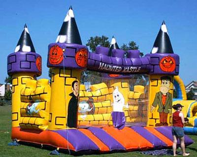Halloween Bouncy Castle