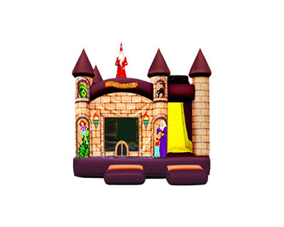 inflatable combo 5 in 1 wizard-s-castle-combo